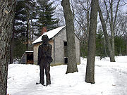 thoreau_cabin_statue_flickr.1258817465.jpg